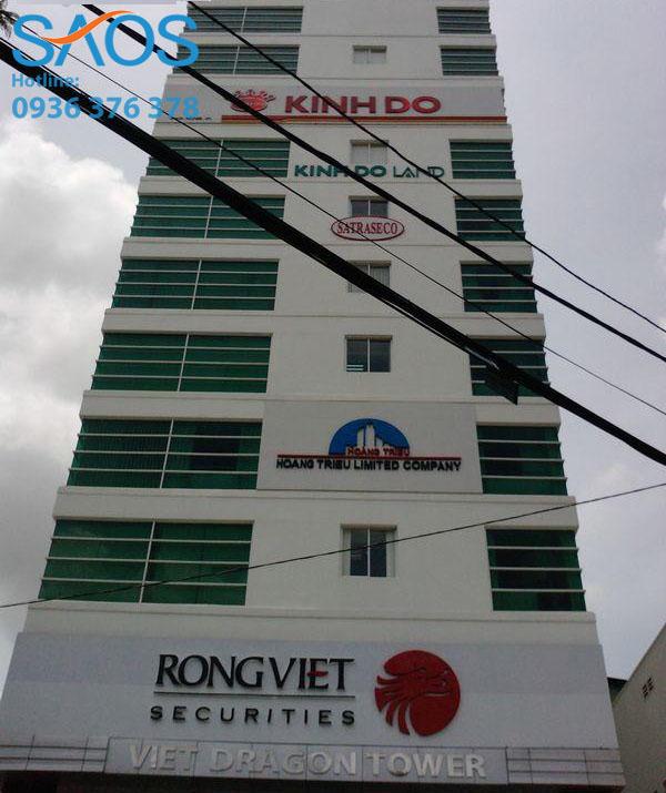 Cho thue van phong Viet Dragon Tower