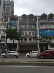Cho thuê nhà phố thương mại sala quận 2. diện tích: 7mx21m, gồm hầm trệt 4 lầu, giá thuê: 4500 USD