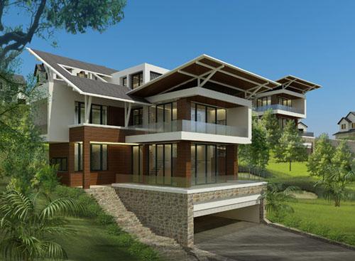Cho thuê biệt thự mặt tiền khu sala mai Chí Thọ quận 2. Nhà trệt, 2 lầu, sân vườn, hồ bơi. DT: 600 m2. Giá: 6000 USD